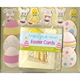 Easter Card Making Kit - Easter Egg Friends