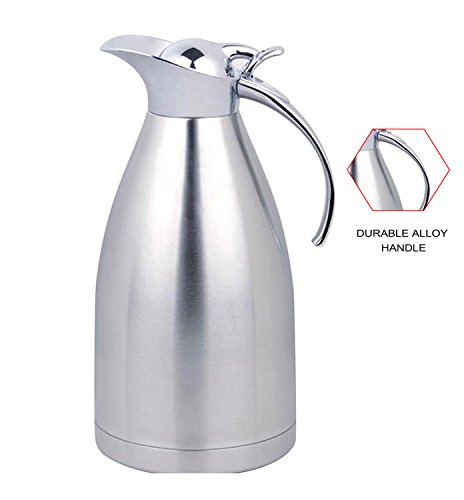 Panesor 2.2 Liter(75 Ounce) Thermal Coffee Carafe Stainless Steel Carafe Coffee Pot (Large Thermos Carafe compare prices)
