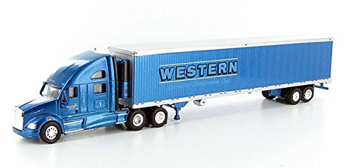 WESTERN DISTRIBUTING KENWORTH T700 w REEFER Trailer TONKIN 1/87 Diecast Truck HO Scale (Tonkin Trailers compare prices)