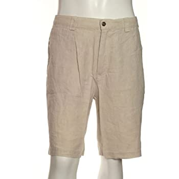 100% linen men's beltloops shorts. Jmp08