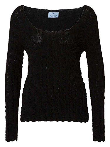 PRADA Damen Pullover schwarz 40/L