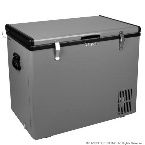 Edgestar 86 Qt. Portable Fridge/freezer - Grey