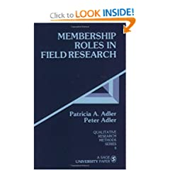 Membership Roles in Field Research (Qualitative Research Methods)