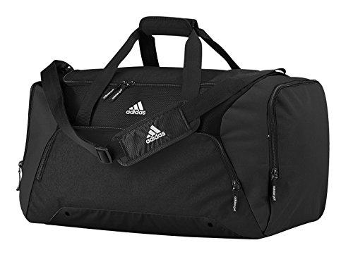 Adidas - Borsone Da Viaggio, Colore Nero/Bianco, Taglia Unica