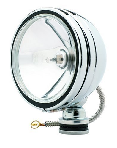 Kc Hilites 1237 Daylighter Chrome 100W Single Spot Beam Light With Cover