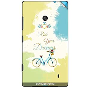 Skin4Gadgets Ride Your Dreams Phone Skin STICKER for NOKIA LUMIA 520