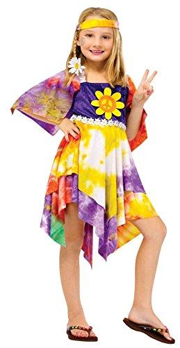 The G (Flower Power Hippie Girls Costumes)
