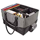 AutoExec AUE14000 File Tote Bag - Gray and Black