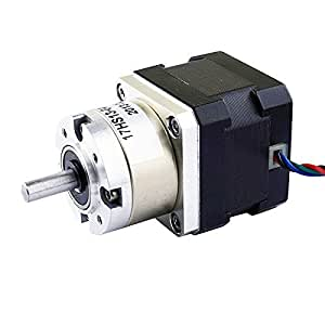 Buy 5 1 planetary gearbox nema 17 stepper motor 0 4a for for Stepper motor buy online