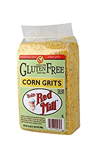 Bob's Red Mill Gluten Free Corn Grits, Polenta, 24 Ounce Packages (Pack of 4)