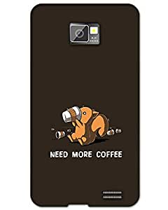 MobileGabbar Samsung Galaxy S2 Back Cover Designer Hard Case