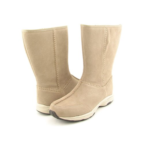 EASY SPIRIT Travelrite Boots Shoes Beige Womens SZ