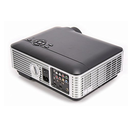 D Digital LCD LED Video Projector Home Theater Video Games Gaming Business Presentations 1080