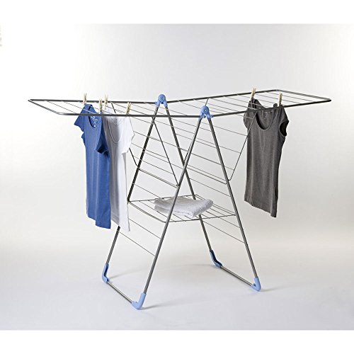 moerman 88346 y airer indoor folding clothes drying rack up to 79 feet of new ebay. Black Bedroom Furniture Sets. Home Design Ideas