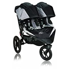 Baby Jogger Summit X3 Double Stroller, Black by BaJogger