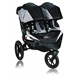 Baby Jogger Summit X3 Double Stroller Black