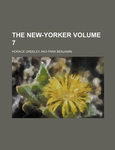 The New-Yorker Volume 7