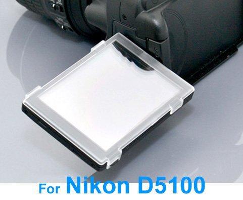 Cowboystudio Hard Plastic Lcd Cover Screen Protector For Nikon D5100 Camera