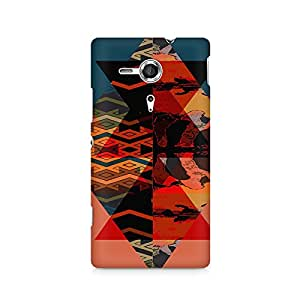 Mobicture Premium Printed Back Case Cover With Full protection For Sony Xperia SP M35H
