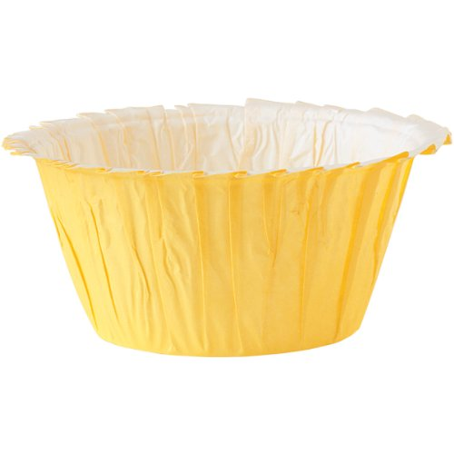 Wilton Ruffle Standard Baking Cups, 24-Pack, Yellow (Ruffled Baking Cups compare prices)