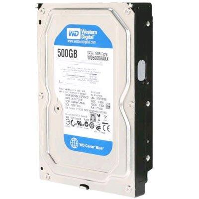WESTERN DIGITAL WD5000AAKX Caviar Blue 500GB 7200 RPM 16MB cache SATA 6.0Gb/s 3.5 internal hard drive