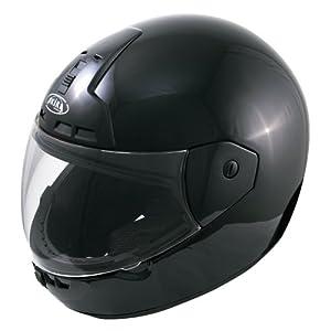 Akira 25004 Nagoya Motorradhelm Integral, Größe: L, Schwarz