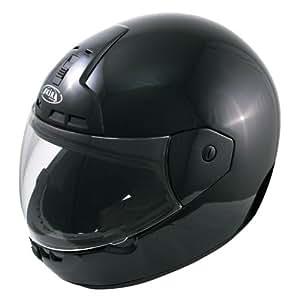 Akira 25001 Nagoya Motorradhelm Integral, Größe: XS, Schwarz