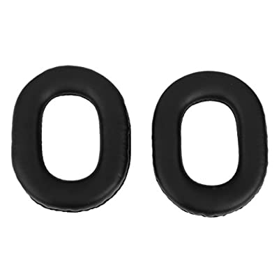 Replacement Ear Pad Cover Cushions for Panasonic RP-HTX7 Headphone Black