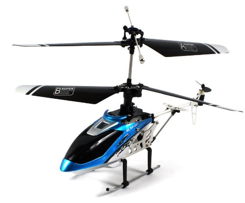 Fxd Mini 3D Knight Electric Rc Helicopter Gyro Gyroscope 4Ch Channel Usb Ready To Fly Rtf (Colors May Vary)