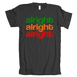 Alright Alright Alright Retro American Apparel T-Shirt