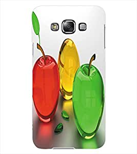 ColourCraft Colourful Fruits Design Back Case Cover for SAMSUNG GALAXY GRAND 3