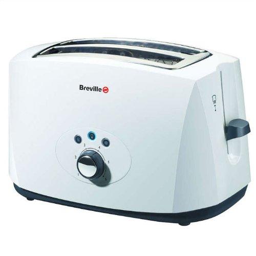 Breville VTT178 White 2 Slice Toaster