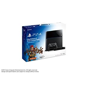 Playstation 4 First Limited Pack with Playstation Camera (プレイステーション4専用ソフト KNACK ダウンロード用 プロダクトコード 同梱)