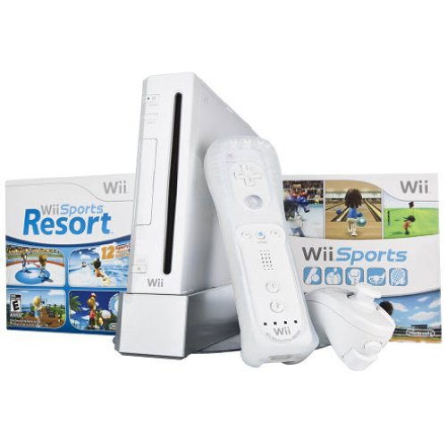 Wii Hardware Bundle - White