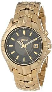 Seiko Men's SKA404 Kinetic Gold-Tone Watch