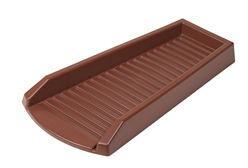 Flex-Drain 3001-12 Splashblock Vinyl, Brown - 1