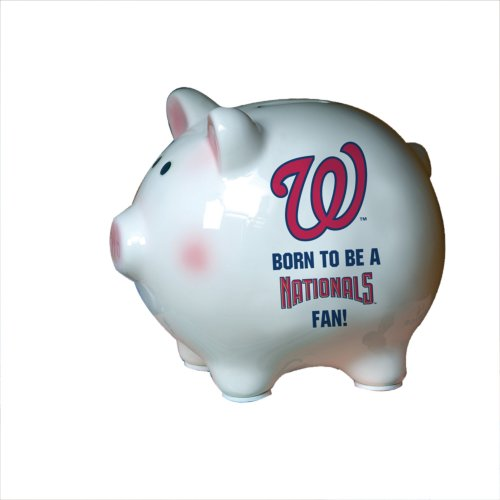 MLB Washington Nationals Born to be Piggy Bank - 1