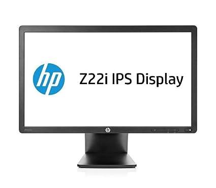 Hewlett Packard - HP Z Display Z22i - Écran LED - 21.5'' - 1920 x 1080 FullHD - IPS - 250 cd m2 - 1000:1 - 5000000:1 (dynamique) - 8 ms - DVI-D, VGA, DisplayPort - noir