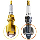 SET OF 4 PERFORMANCE SPARK PLUG Honda VTX1800R (2007-2002) * W2T121DOR15LGSZK4R1T118