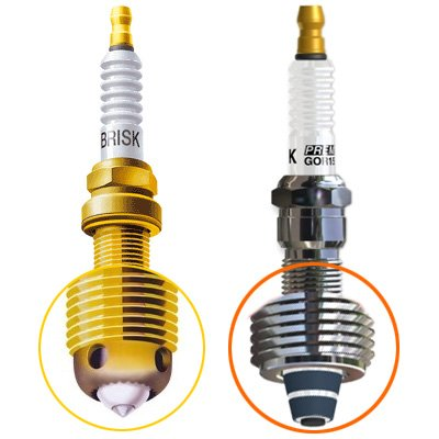 SET OF 4 PERFORMANCE SPARK PLUG Piaggio Fly 50 4T (all) * WE2422AR12ZSGHYZ (Piaggio Fly 50 Spark Plug compare prices)