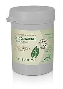Huile Végétale de Coco Raffinée BIO (Solide) - 100% Pure - Certifiée BIO - 100g