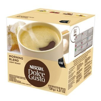 Nescafe Dolce Gusto For Nescaf? Dolce Gusto Brewers, Morning Blend (Light Roast), 16 Count