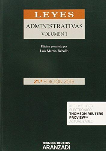 Leyes Administrativas (2 Vols) 21ª ed. 2015 (Código Profesional)