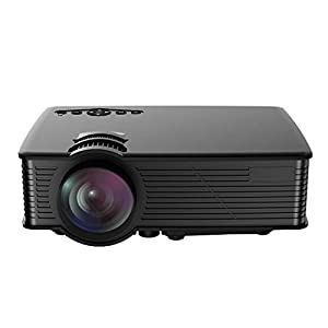 LCD Projector,Mpow Mini Portable Multimedia Home Theater With USB SD HDMI VGA for Video Game Movie Backyard Cinema