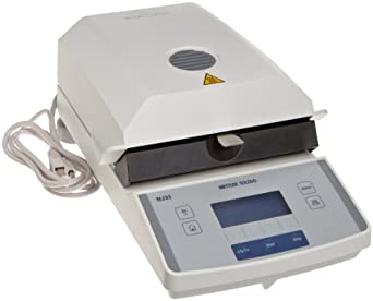 Mettler Toledo Infrared Moisture Analyzer, 0.01 Percent Moisture Content Readability