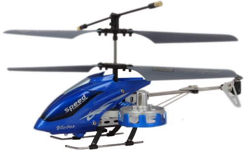 Infra-BLUE -Remote-Control Helicopter RC Plane