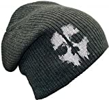 CALL OF DUTY MERCHANDISE GE2089 CALL OF DUTY Large Beanie Hat Grey (GE2089) - (Gaming Gaming T-Shirts & Merchandise)