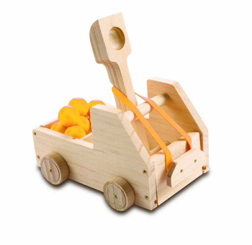 Red Tool Box Truck Catapult - 1