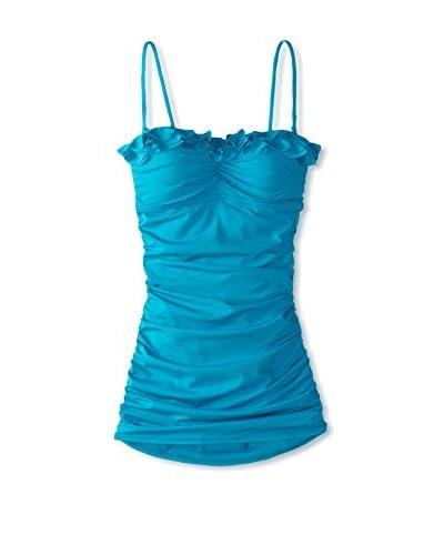 Kenneth Cole Women's Bandeau Swim Dress