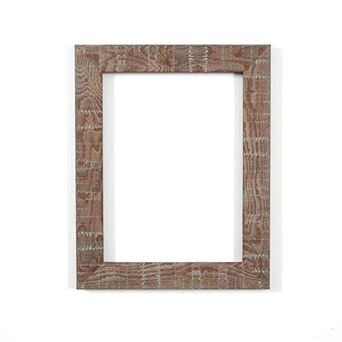 walnut-a3-ready-to-hang-shabby-chic-rustic-wood-grain-picture-photo-frame-with-high-clarity-styrene-